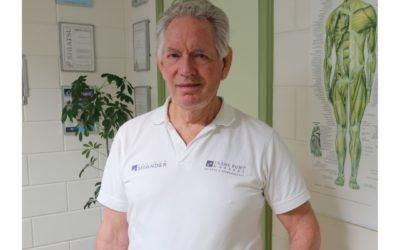 Portret van masseur Frans Punt
